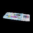 MIX Zseléstoll készlet 24db /neon,glitter,metál/