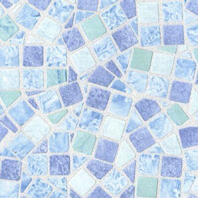 MOZAIC BLUE öntapadós tapéta/fólia , 45 cm x 15 m