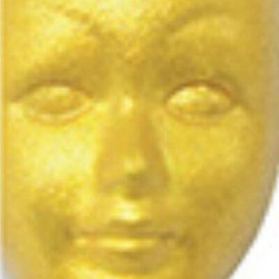 Metál akrilfesték 50 ml - barokk arany