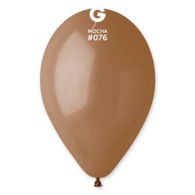 Gemar 26 cm egyszínű lufi - mokka , 100 db