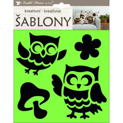 Kreatív Sablon 18 x 17,5 cm