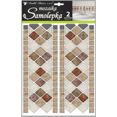 Mozaik matrica , 30 x 12cm, 2 ív