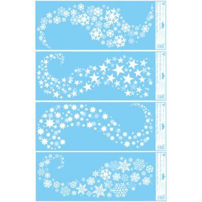 Statikus dekor ablakfólia 60 x 22,5 cm