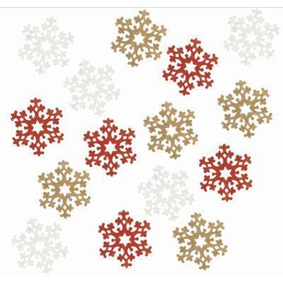 Karácsonyi fa dekoráció 4 cm 12 db/csomag
