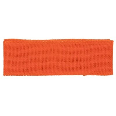 Juta szalag 6 cm x 2 m narancssárga