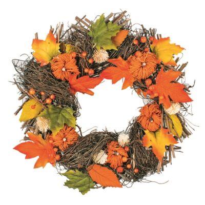 Fonott őszi koszorú 41 cm