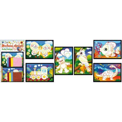 Kreatív Gyűrt Kép 28 x 16 cm 2 db kép