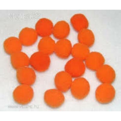 Pompom narancssárga 2,5 cm 18 db/csomag