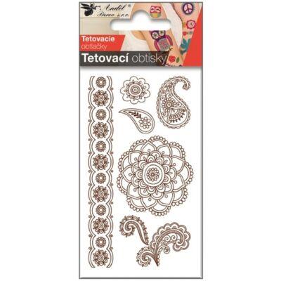 Tetováló matrica, 10,5 x 6 cm
