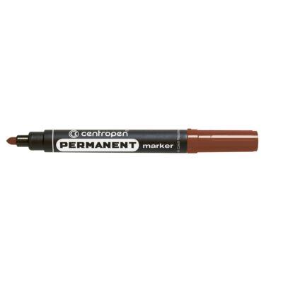 Alkoholos permanent  marker barna 1 - 4,6 mm