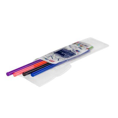 Radírozható 4 színű golyóstoll FLOW betét