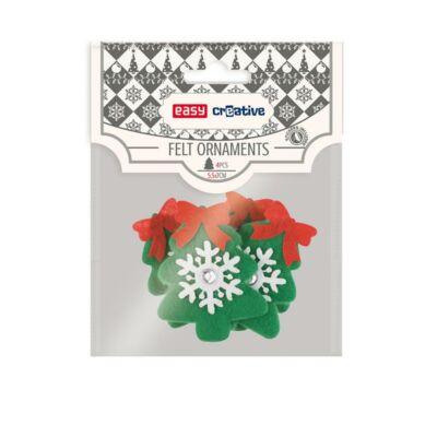 Karácsonyi kreatív készlet 5,5 x 7 cm