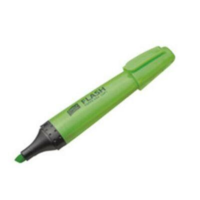 FLASH szövegkiemelő 4mm zöld 1db