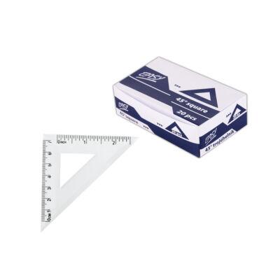 Háromszög vonalzó 10cm 1db