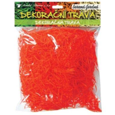 Dekorációsfű, 50g , narancs