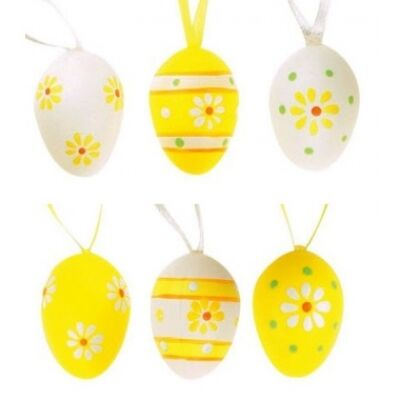 Húsvéti tojás 4 cm 6 db/csom