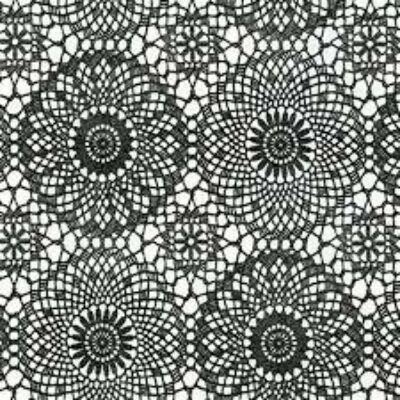 CONTOUR  BLACK  - öntapadós fólia, 45 cm x 2 m