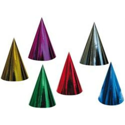 Parti - kalap,  hologramos  6 db / csomag