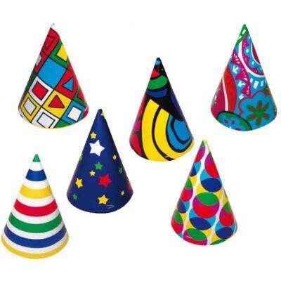 Party kalap 6 db / csomag