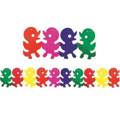 Girland 400 x 22 x 16 cm - kiskacsák