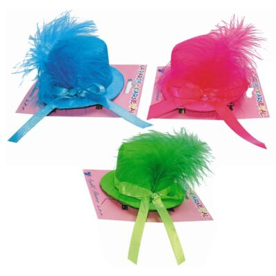Tollas kalap  kis méret hajcsattal