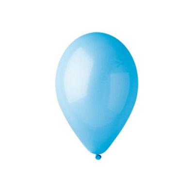 Gemar 26cm egyszínű lufi -  világos kék, 100db