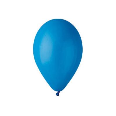 Gemar 26cm egyszínű lufi -  kék, 100db