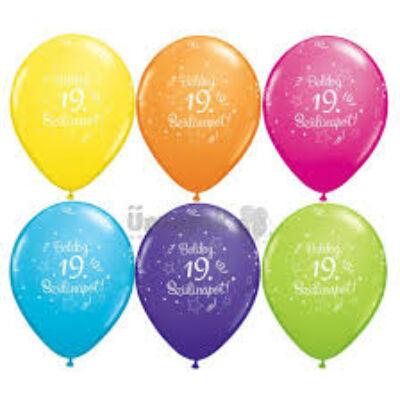 Lufi -  19 éves Boldog Születésnapot 5db/csom