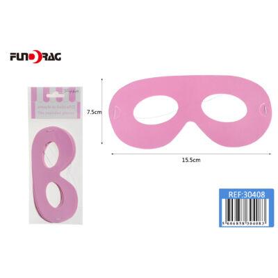 Rózsaszín szemüveg 15,5 cm 6 db/ csom