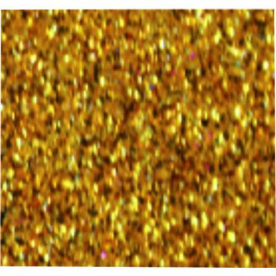 Csillámos öntapadós dekorgumi A4, 2mm, 1 db arany