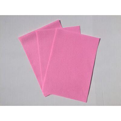 Filclapok 20x30cm 1mm 10db rózsaszín