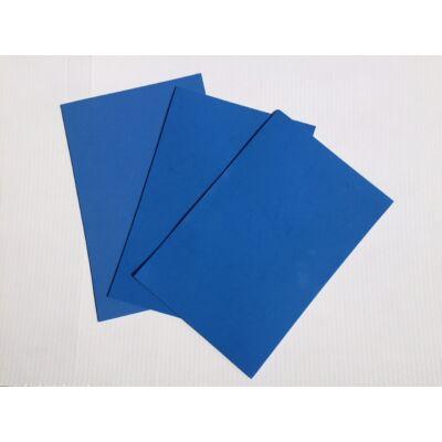 Dekorgumi A4 2mm, kék, 10db/csomag
