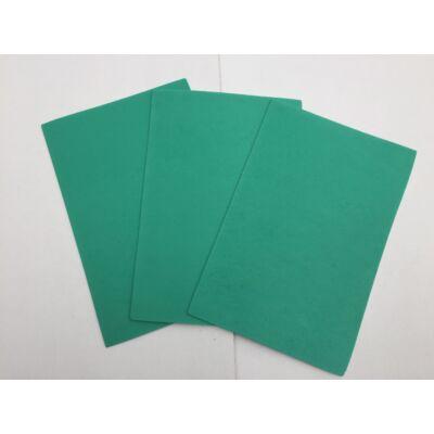 Dekorgumi A4 2mm, közepes zöld,10db/csomag