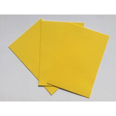 Dekorgumi A4 2mm, sárga, 10db/csomag