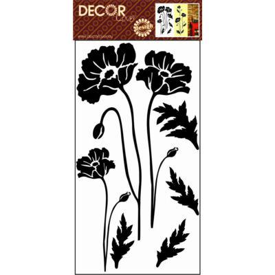 Falmatrica - Fekete virág, 69x32 cm