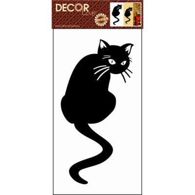 Falmatrica - Fekete cica 69x32 cm