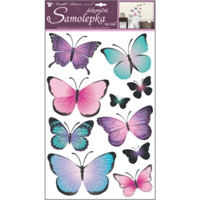 Falmatrica - Pillangók , 60 x 32 cm
