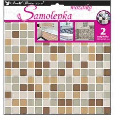 Mozaik  matrica 25,5 x 25,5 cm, 2db