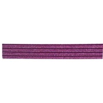 Kreatív mintás glitteres pvc ragasztószalag 1,5 cm x 10m piros vonalak